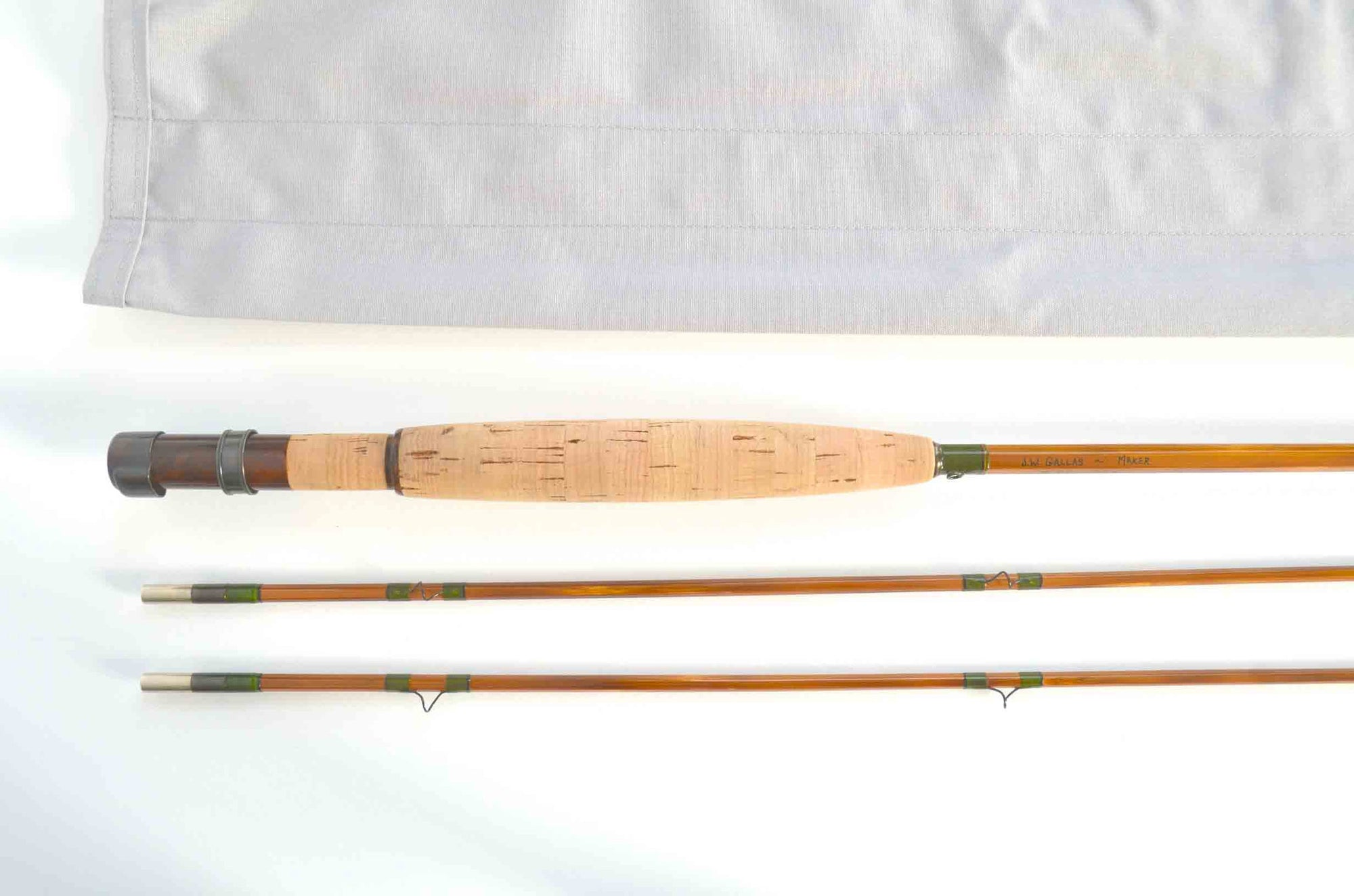 "John Gallas Parabolic Fly Rod 7'9"" 2/2 #5"