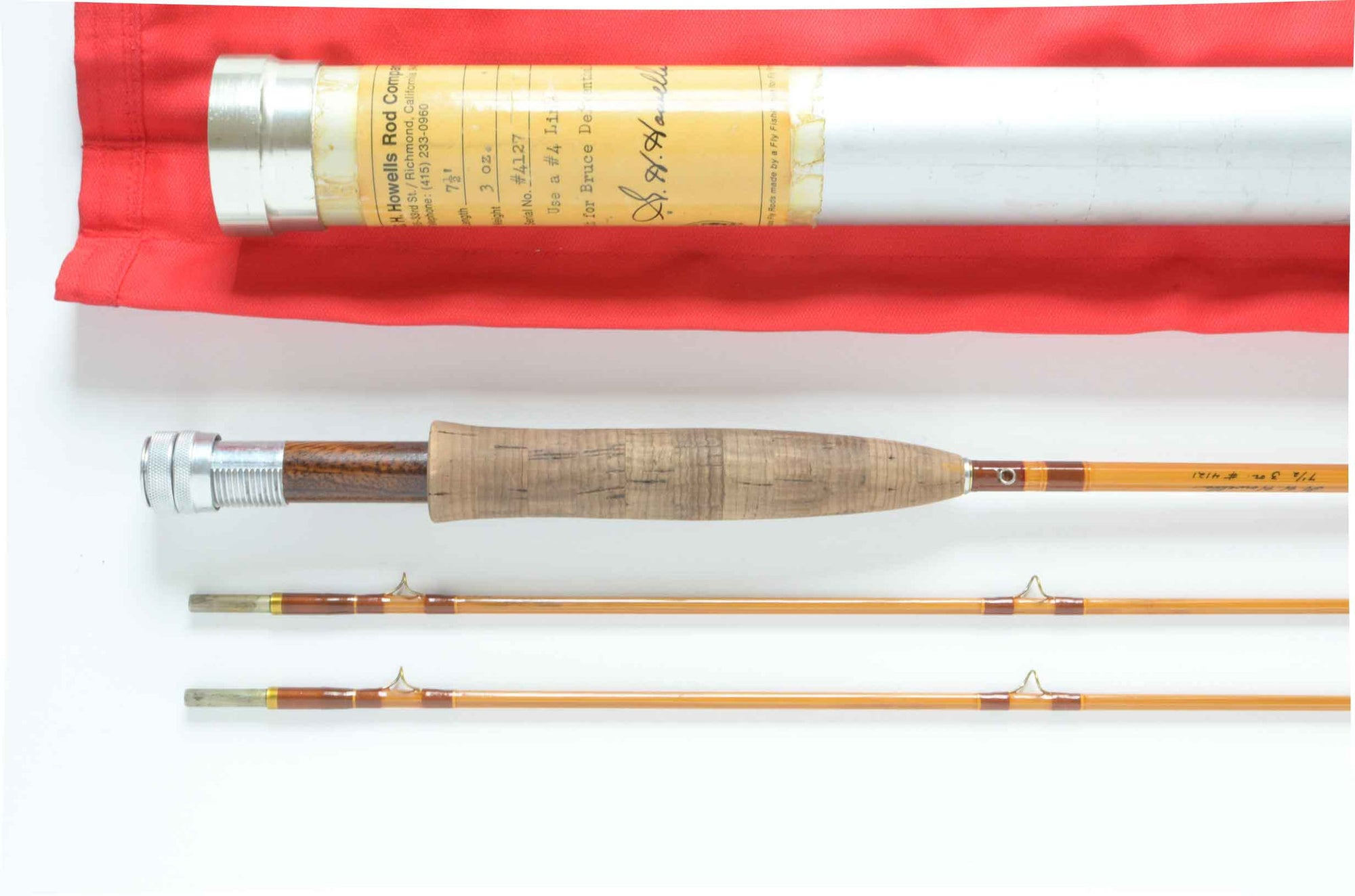 "Gary Howells Fly Rod 7'6"" 2/2 #4"