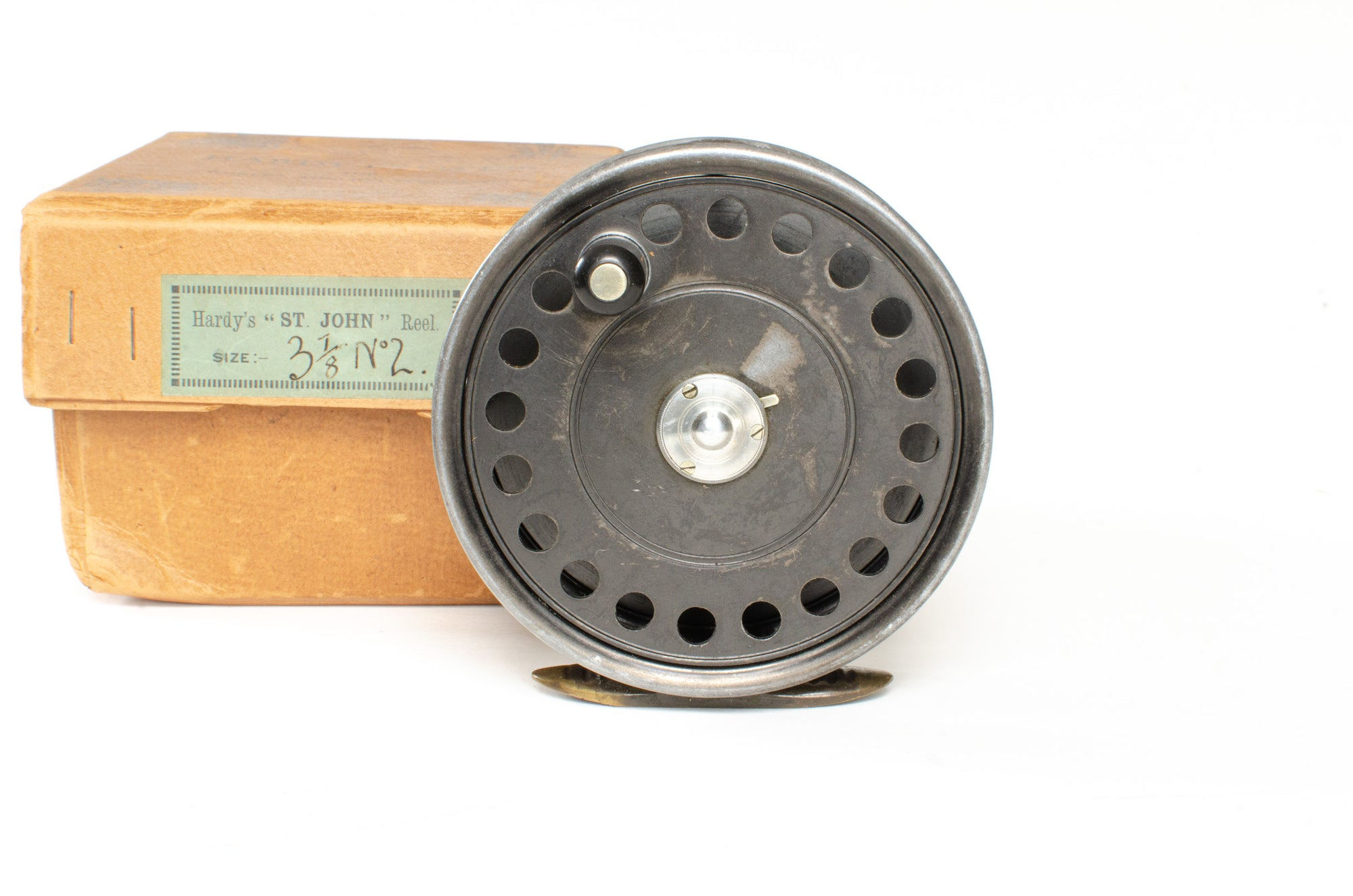 "Hardy St John Fly Reel 3 7/8"" No. 2"