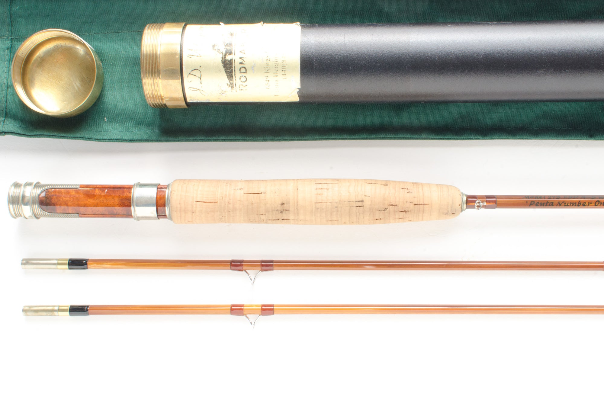 "JD Wagner Penta Fly Rod 7'3"" 2/2 #4/5"