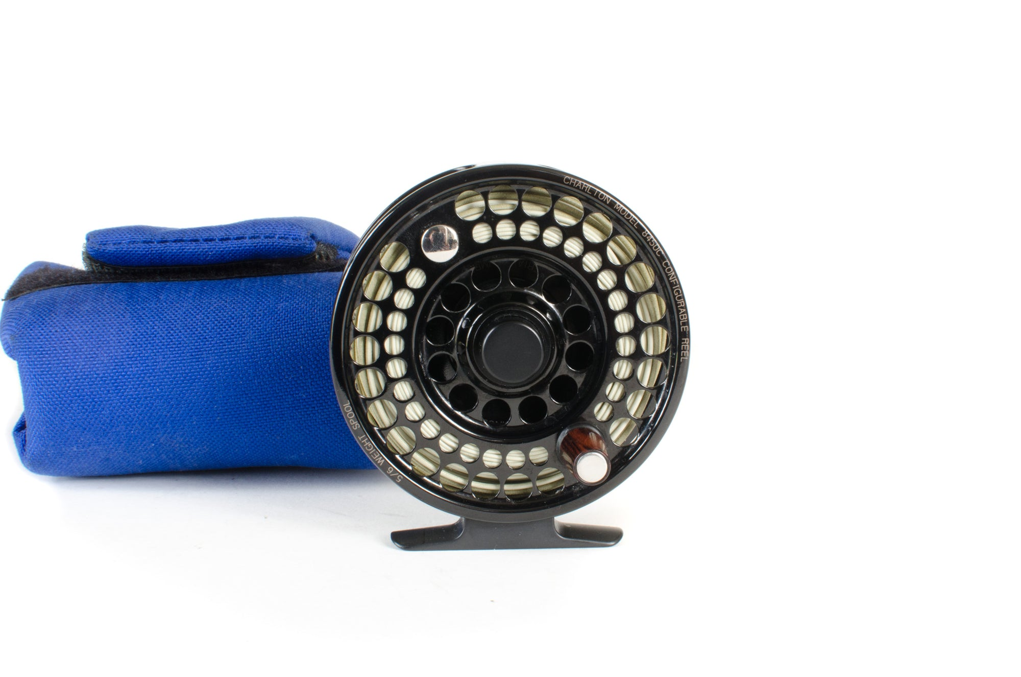 Charlton 8450C Fly Reel with 5/6 Spool