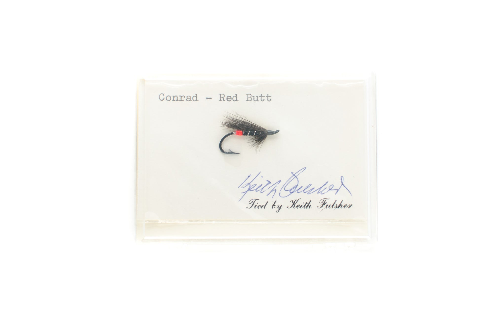 Conrad Red Butt Salmon Fly by Keith Fulsher