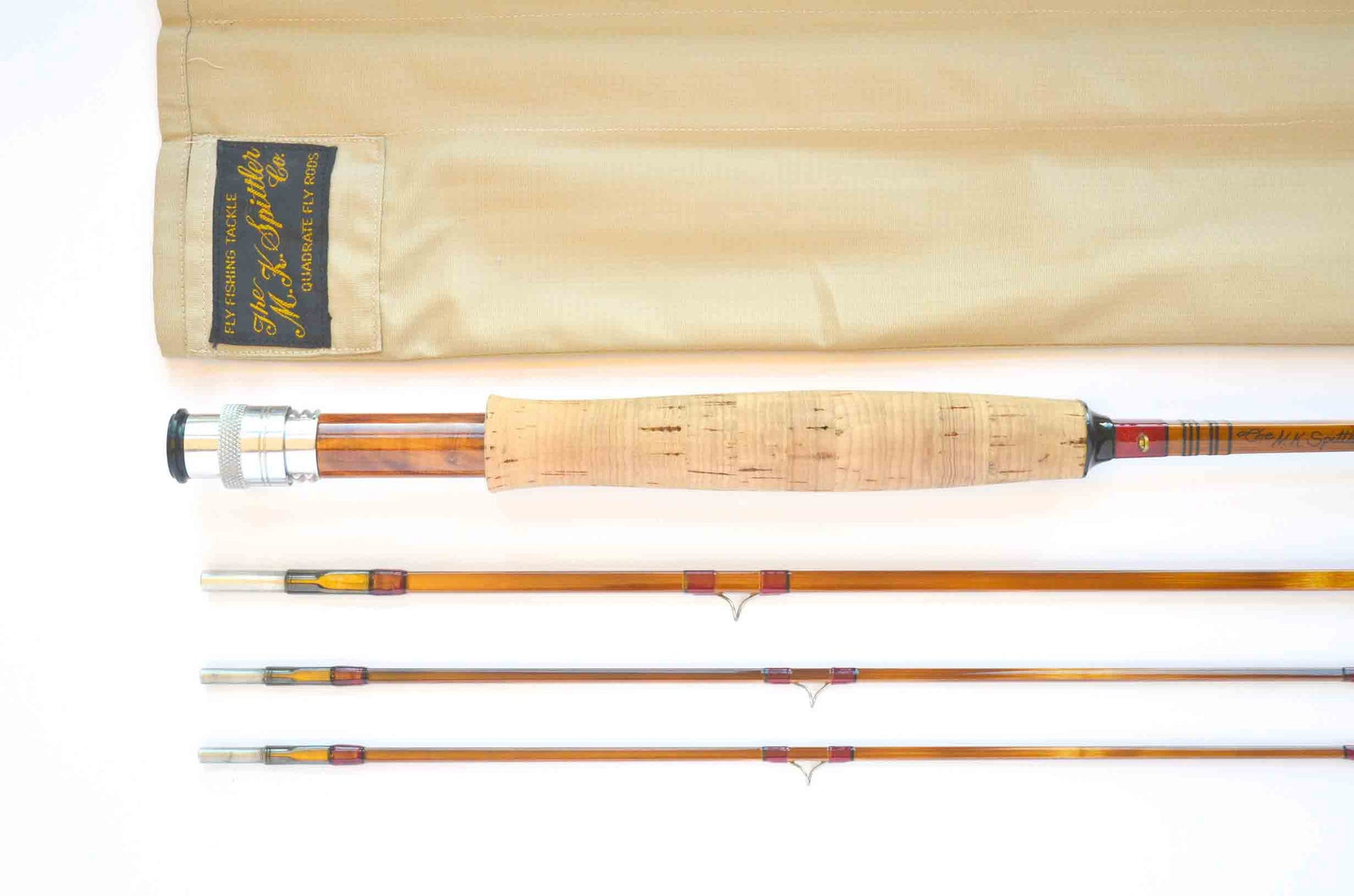 MK Spittler Quad Fluted Hollowbuilt Fly Rod 9' 3/2 #4