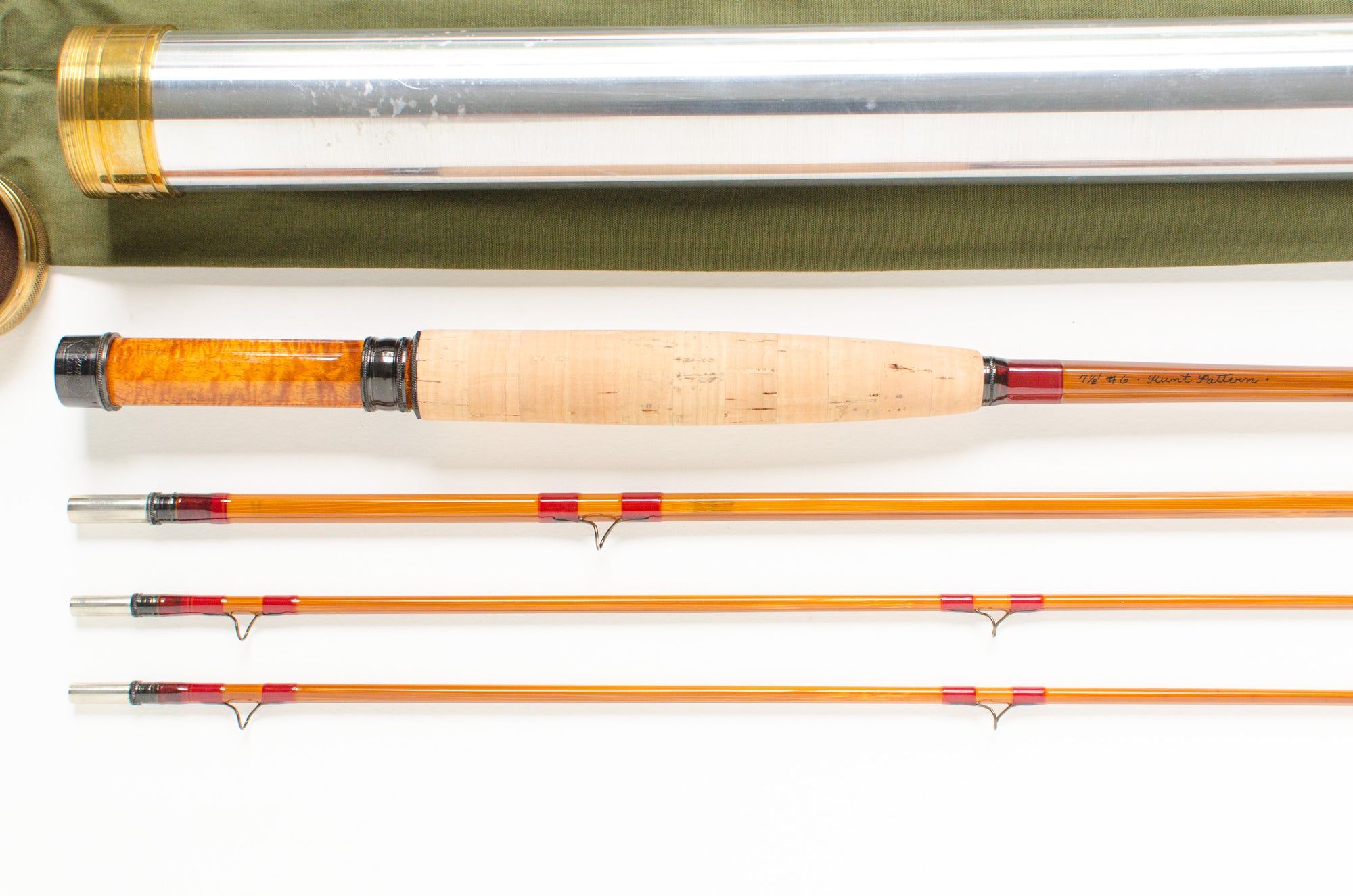 "Aroner Hunt Pattern Fly Rod 7'6"" 3/2 #6"