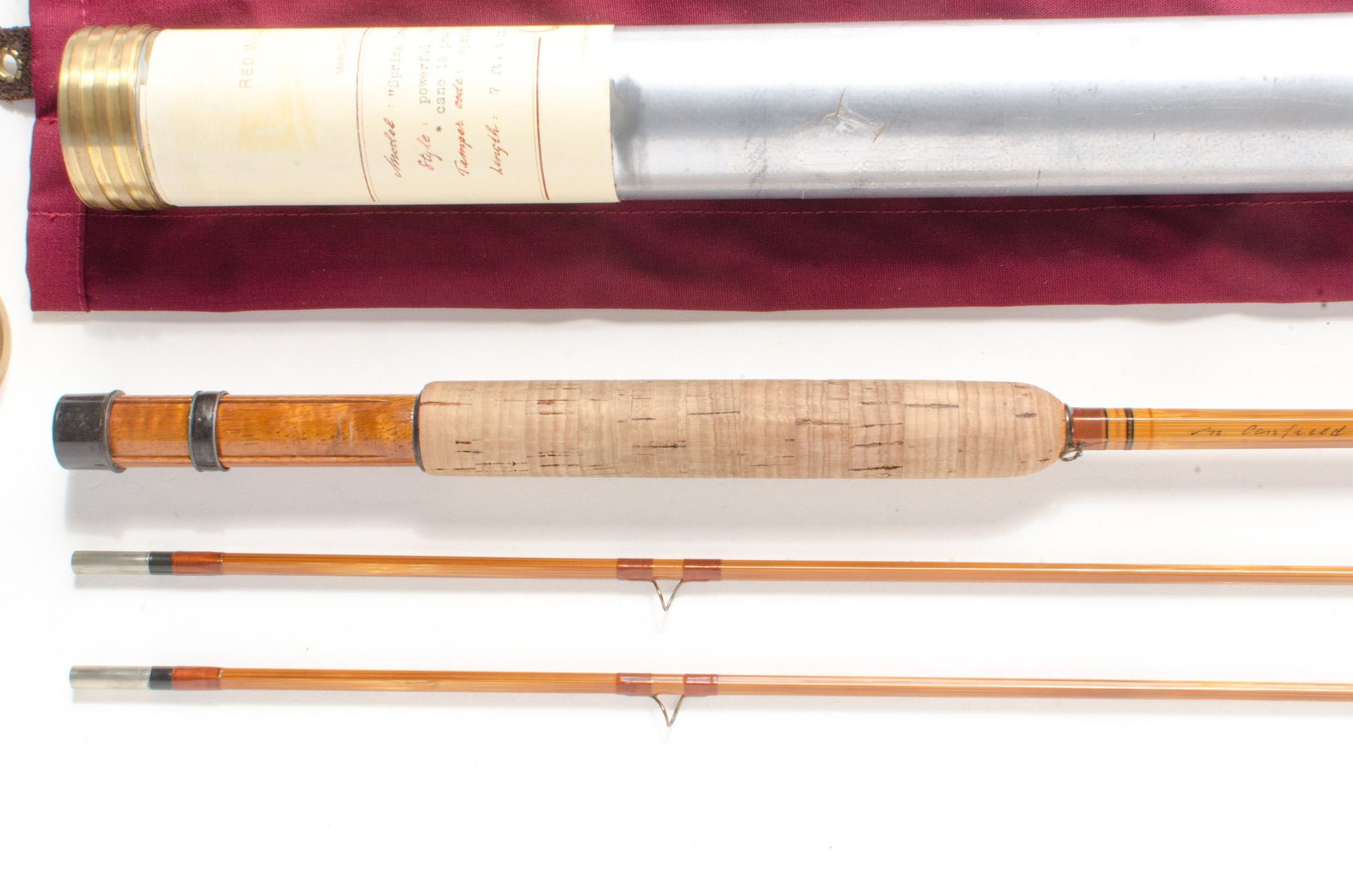 "Mark Canfield ""Spring Creek Guide"" Fly Rod 7'6"" 2/2 #5"