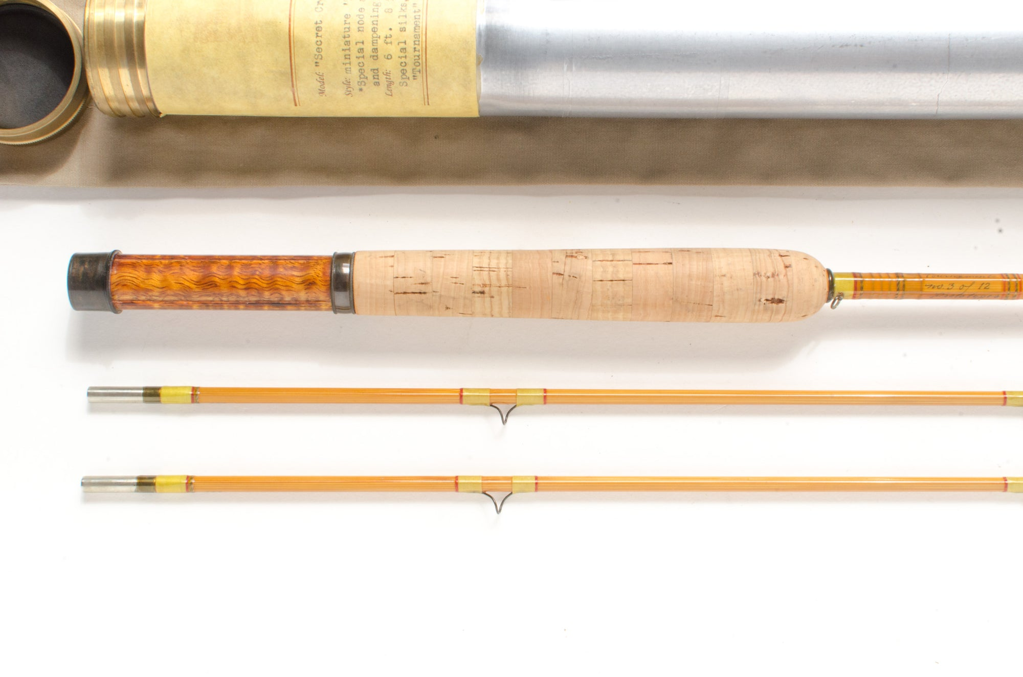 "Mark Canfield ""Secret Creek Special Tournament"" Fly Rod 6'8"" 2/2 #4 [SALE PENDING]"