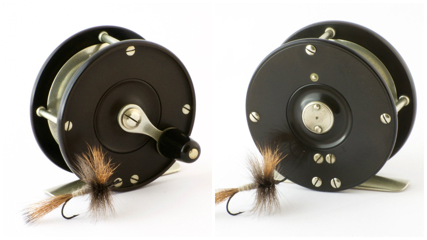 Vom Hofe, Edward - Peerless Fly Reel (very early)