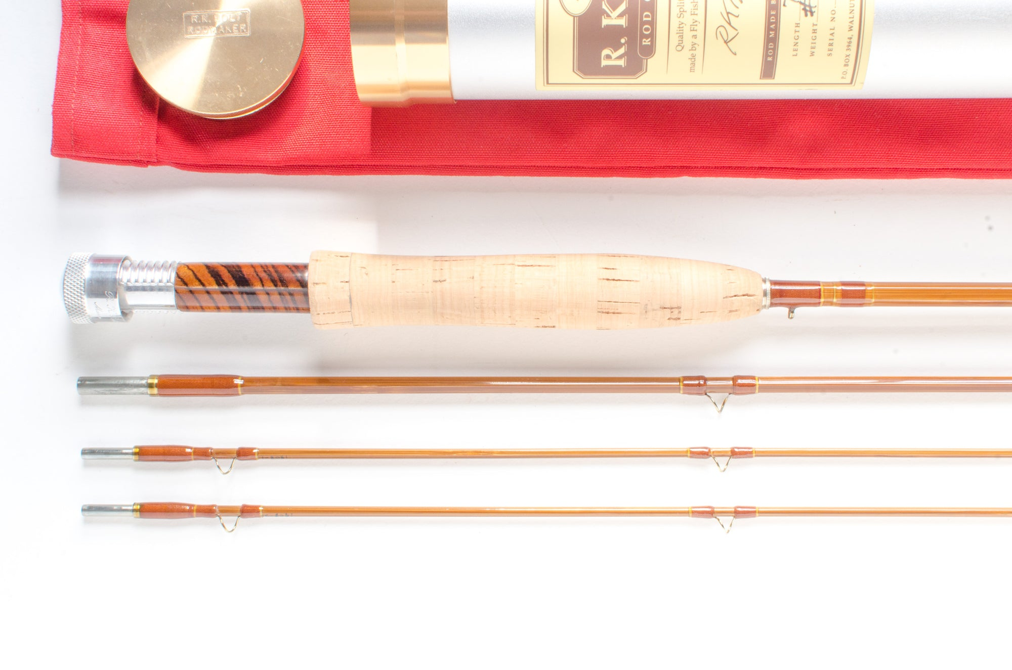 "RK Bolt Fly Rod 7'6"" 3/2 #4 [SALE PENDING]"