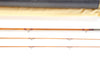 "Ron Kusse Quad Fly Rod 7'6"" 2/2 #4/5"