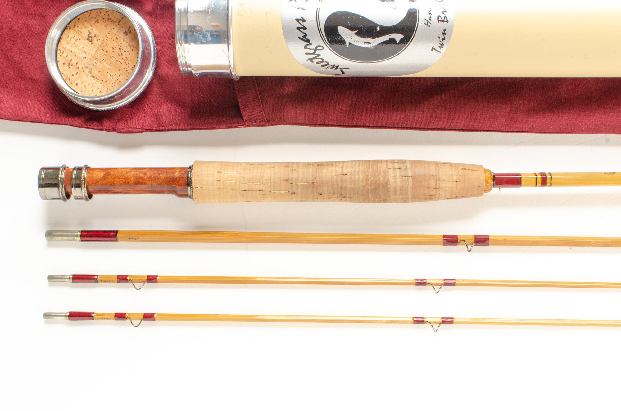 "Sweetgrass Penta Fly Rod 7'6"" 3/2 #4 [SALE PENDING]"
