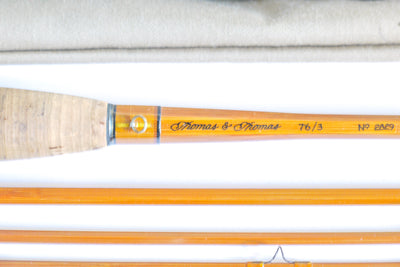 "Thomas and Thomas Fly Rod 7'6"" 4/2 #3"