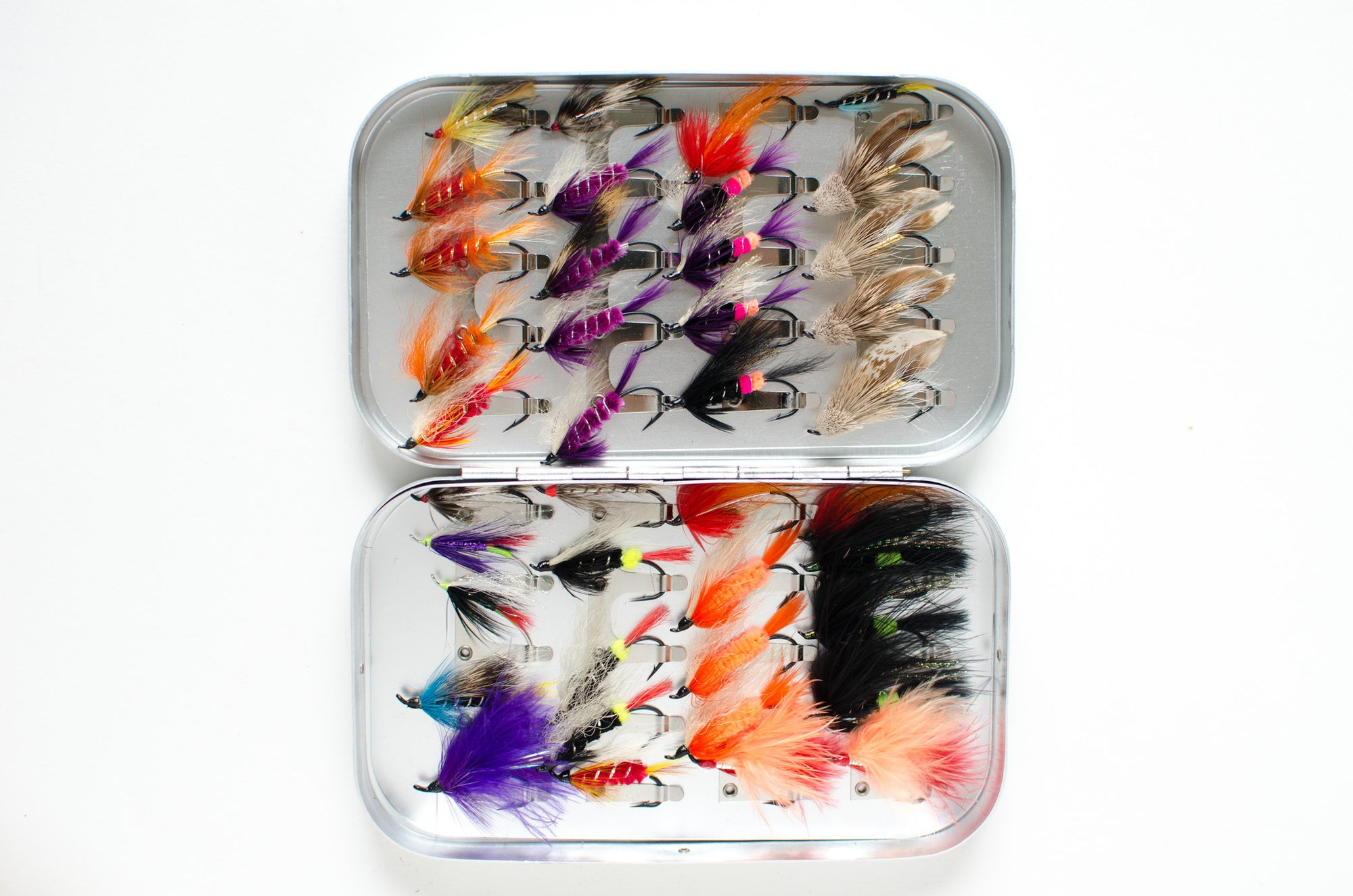 Wheatley Salmon Box with 40 flies