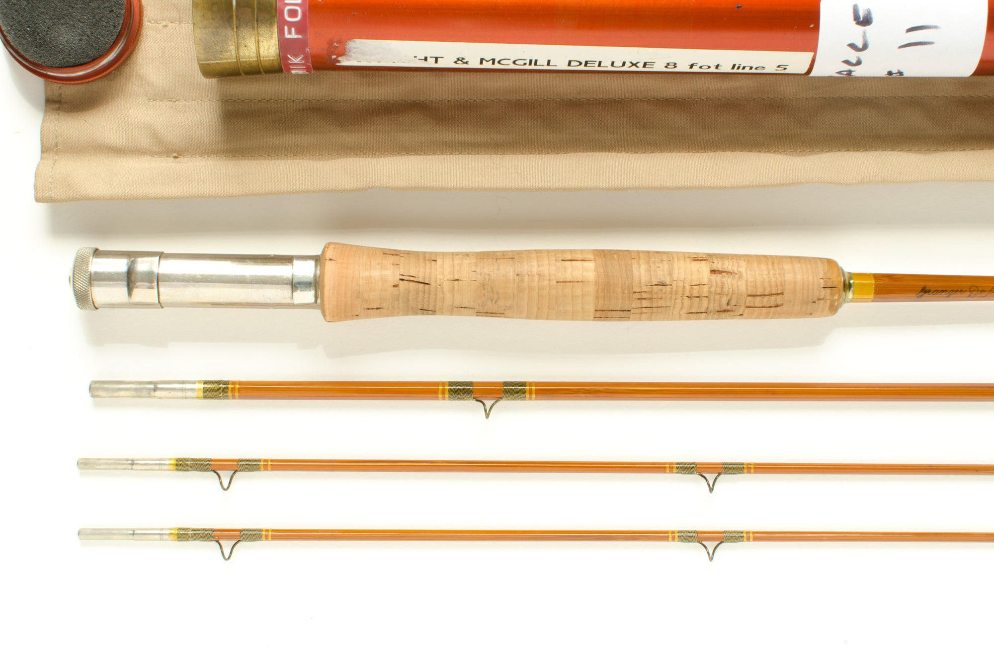 Wright & McGill Granger DeLuxe Fly Rod 8' 3/2 #5
