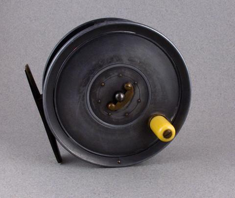 "Dingley Fly Reel 4 1/4"" - William Mills & Son Caged Spool ""Humber"""