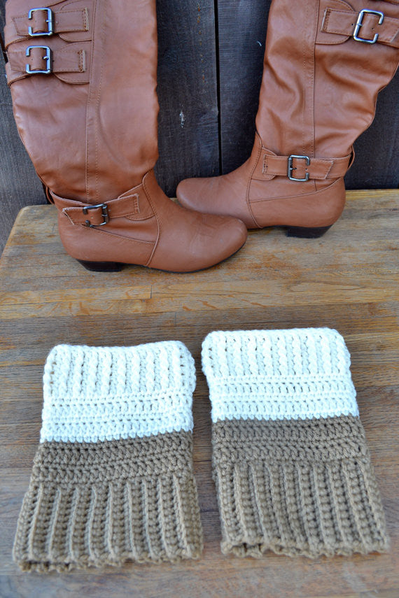 All sizes! Boot Cuffs Any Colors Crocheted
