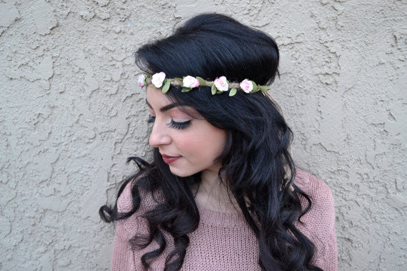 Mini Rose Headband #C1053