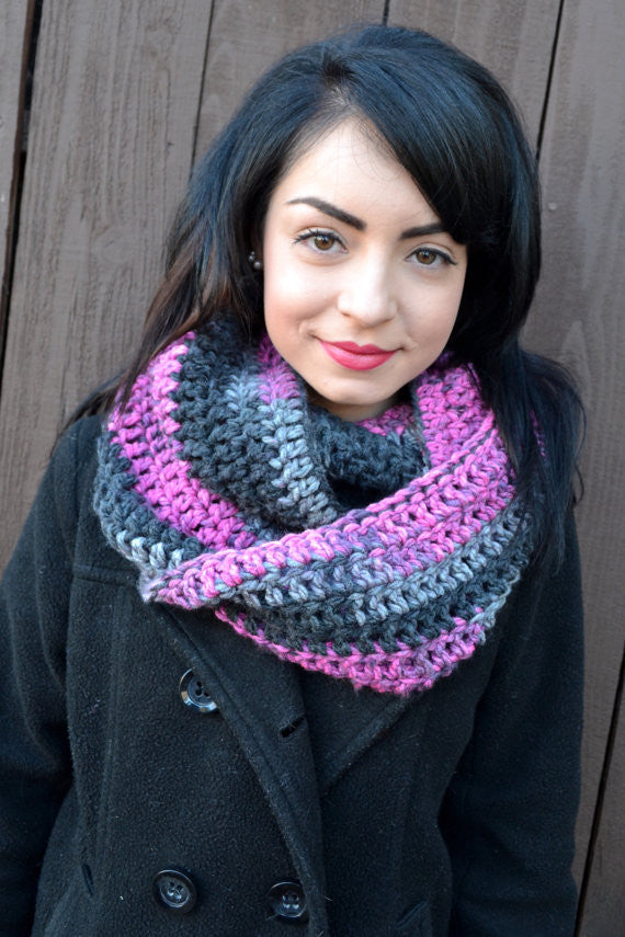 Black Raspberry Scarf