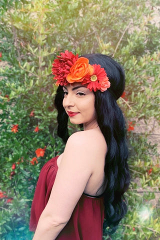 Fall Flower Headband #C1119
