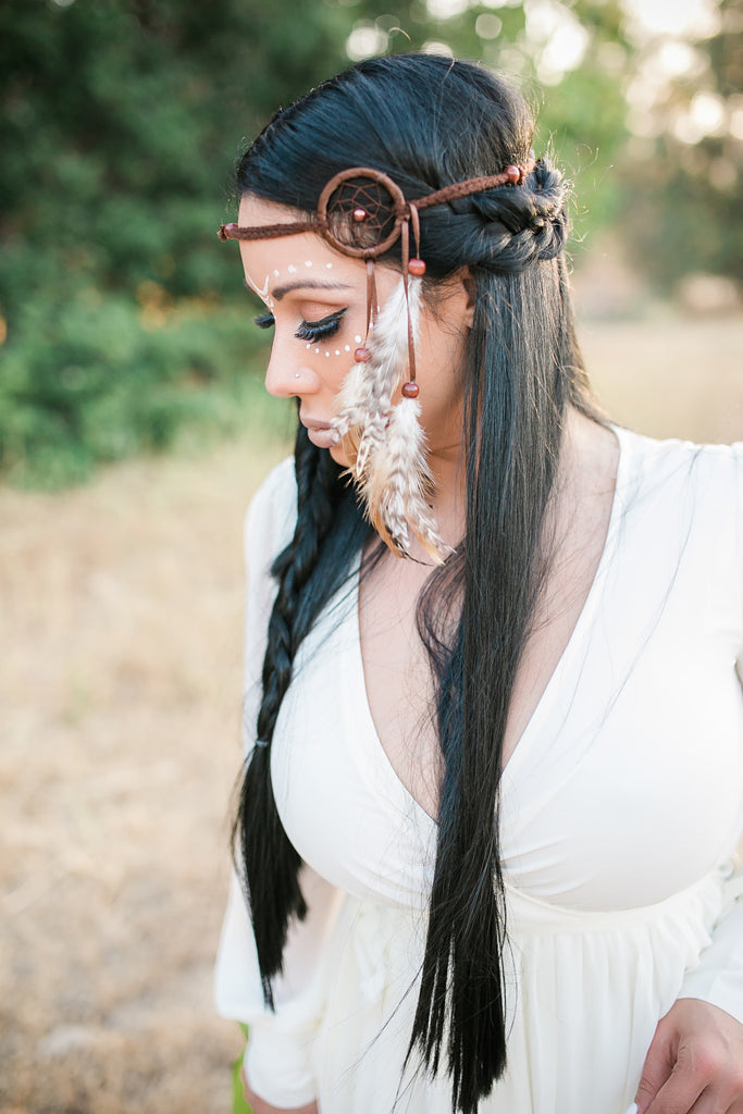 Native Dreamcatcher Headband #A1011