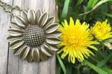 Sunflower Necklace #I1011