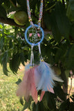 Pink & Blue Dreamcatcher Headband #A1042