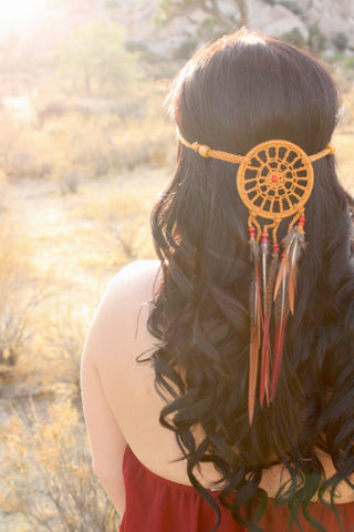 Honey Mandala Headband #A1045