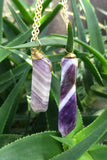 Amethyst Crystal Necklace #I1133
