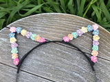 Rainbow Daisy Cat Ears #E1017