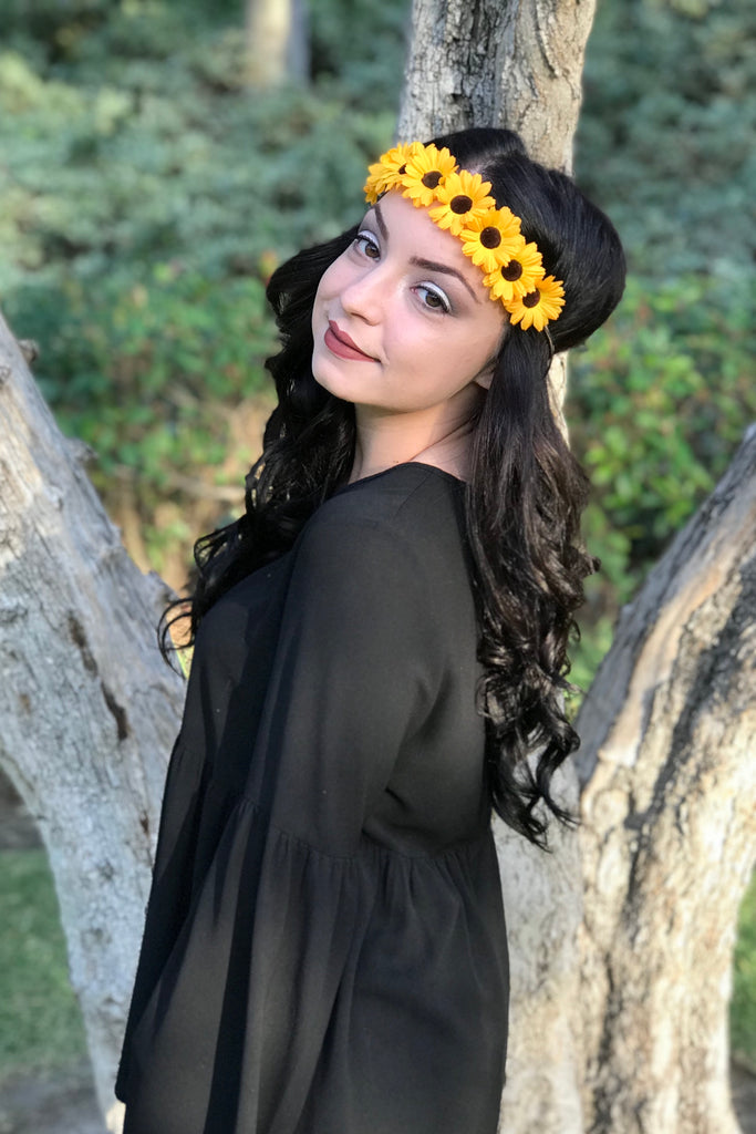 Sunflower Headband #C1101