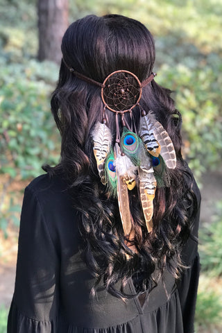 Natural Dreamcatcher Headband #A1037