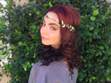 Grey Rose Crown #D1016