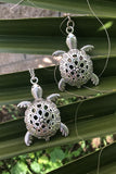 Silver Turtle Necklace #I1150