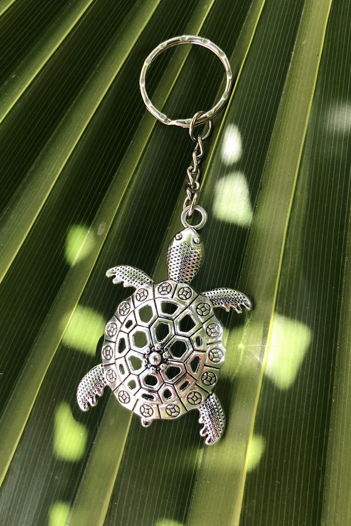 Silver Turtle Key Chain #J1010