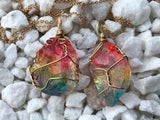 Rainbow Crystal Necklace #I1039