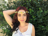 Yellow Rose Crown #D1031