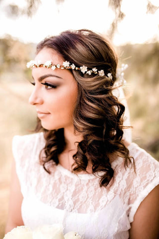 Rustic Flower Crown #D1020