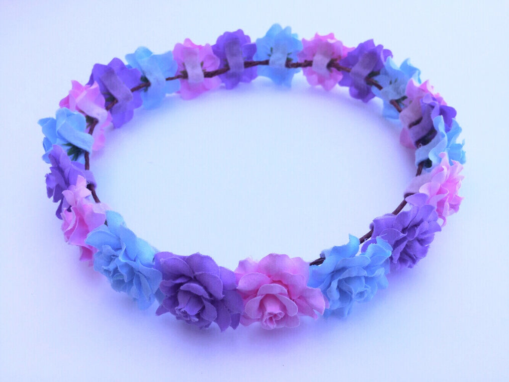 Pastel Flower Crown  D1033 – VividBloom 1736a15676c