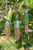 Rainbow Quartz Necklace #I1211