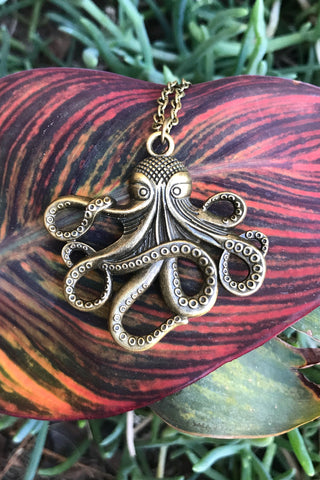 Octopus Necklace #I1106