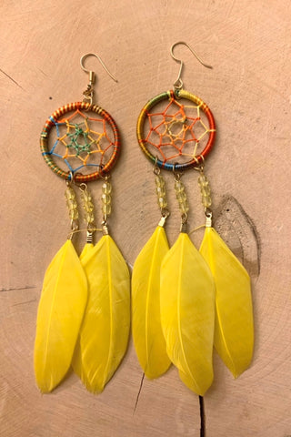 Reserved Listing for Rosie Dreamcatcher Earrings