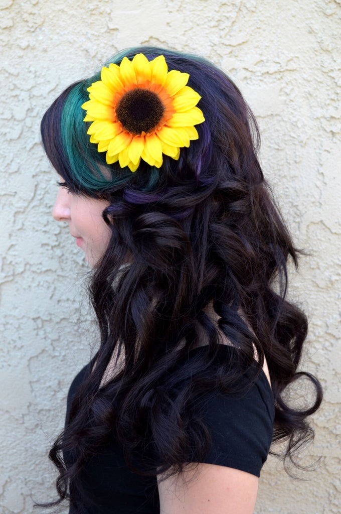 Sunflower Hair Clip #F1001