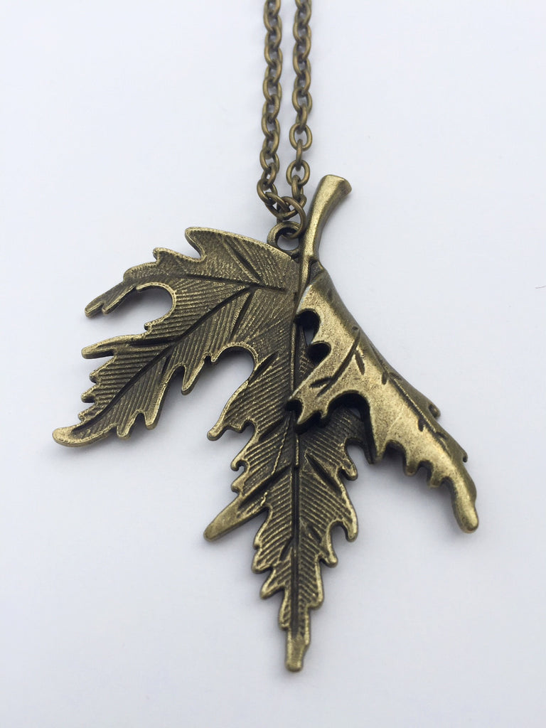 leaf dragonfly patina products no cat and maple necklace pendant skull copper