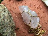 Rose Quartz Necklace #I1010