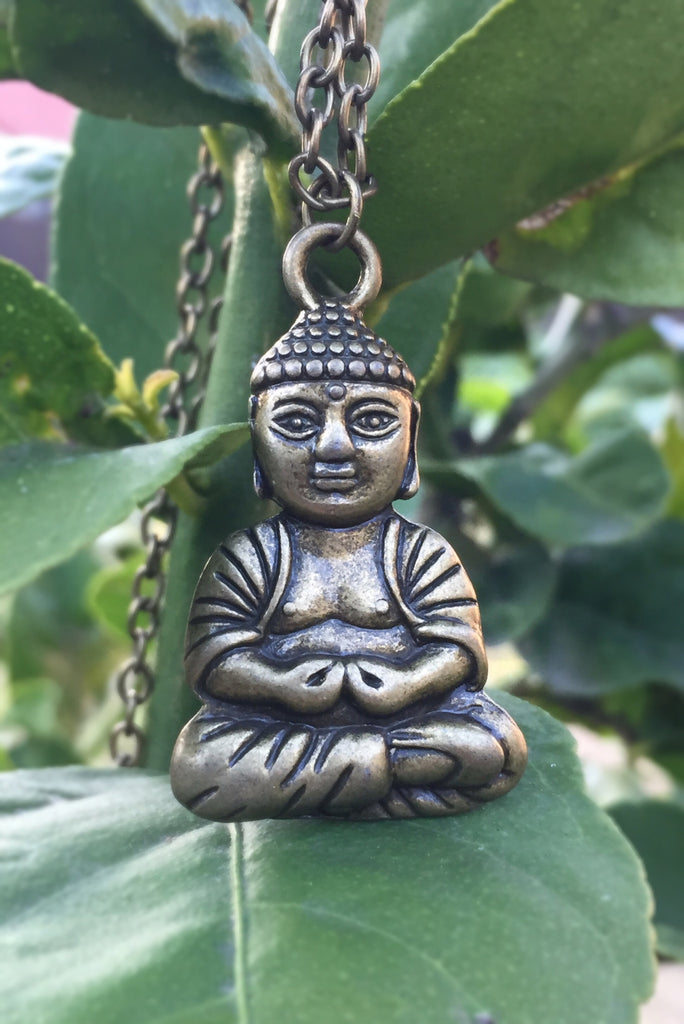 Meditation Buddha Necklace #I1014