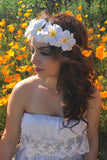 Hawaiian Flower Headband #C1078