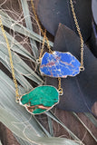 Blue Jasper Necklace #I1097