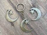 Moon Star Key Chain #J1003