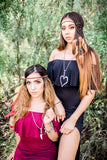Black & Brown Dreamcatcher Headband #A1030