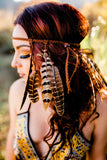 Pheasant Feather Headband #B1066