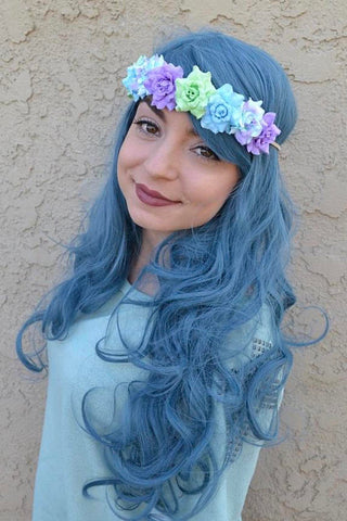 Mermaid Rose Headband #C1103
